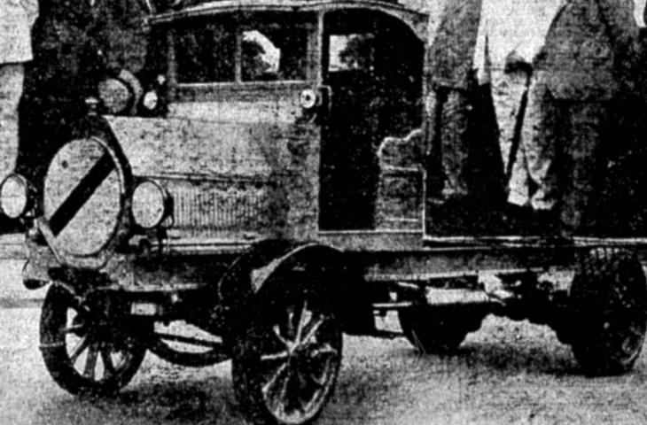 002 – Nosso Primeiro Caminhão